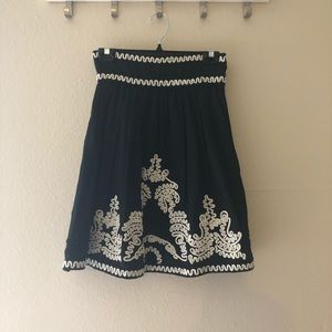 FRENCH CONNECTION Embroidered skirt